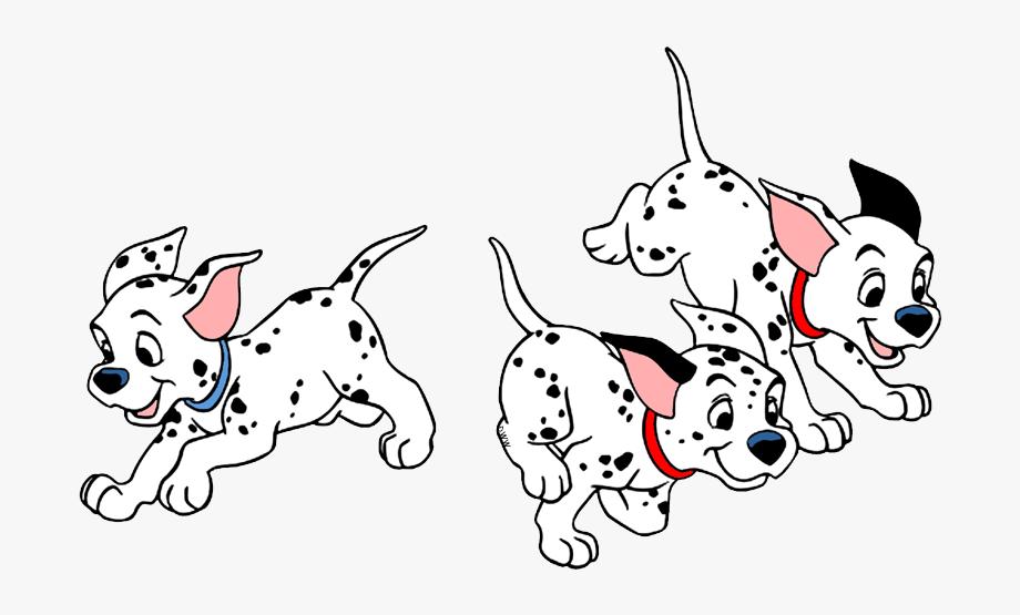 Puppies Running.