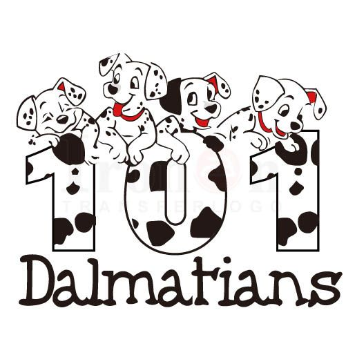 101 Dalmatians logo Iron On Transfers (Heat Transfer) N6831.