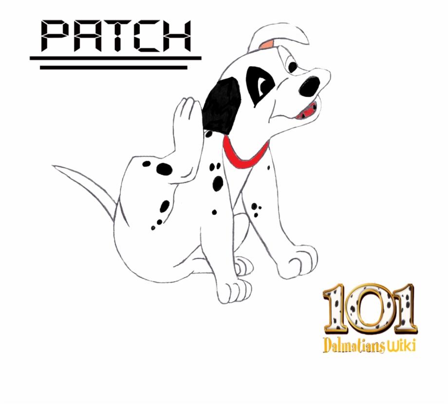 Patch 101 Dalmatians Png Png Download Patch The.