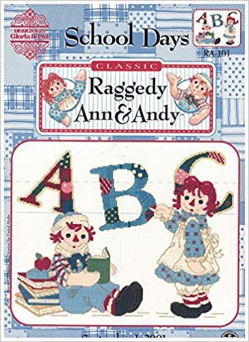 Classic Raggedy Ann & Andy School Days RA.