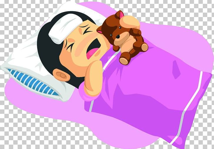 Cartoon Fever Illustration PNG, Clipart, Adult Child, Art.