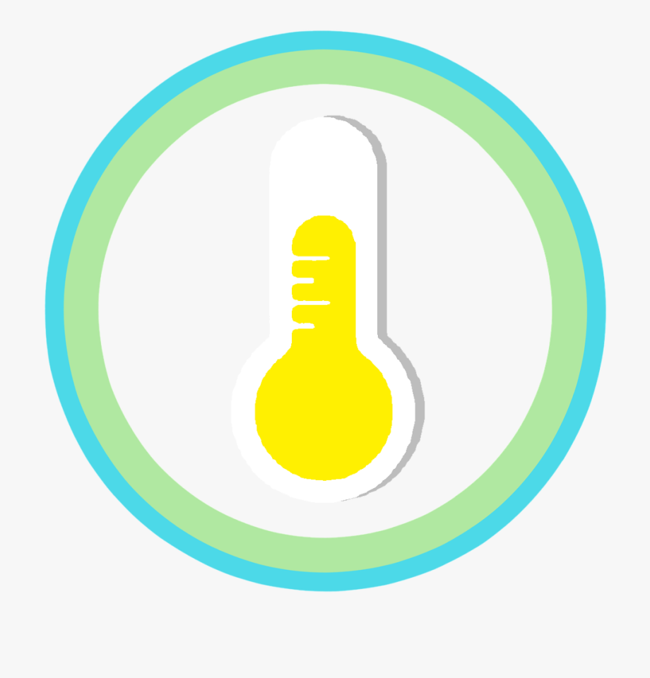 Temperature Icon Wither Lap Vector Clipart.