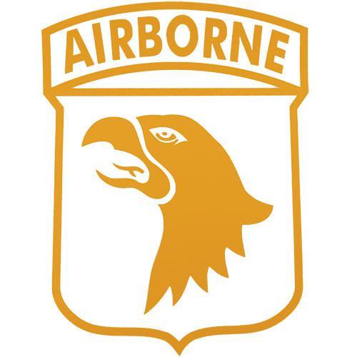 101st Airborne Jumbo Vinyl Transfer.