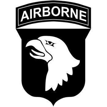 Amazon.com: American Vinyl 101st Airborne Logo Screaming.