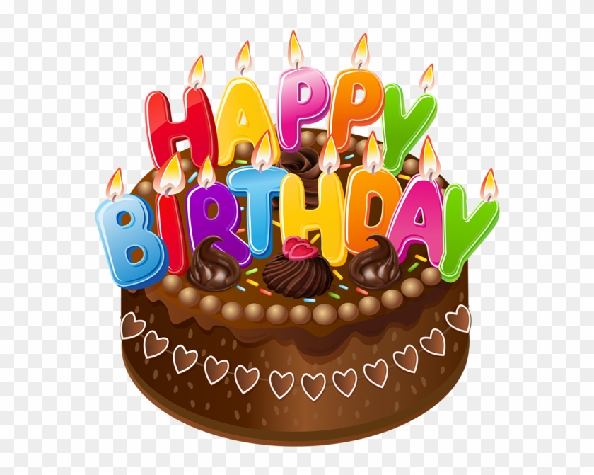 Happy Birthday Cake Png Clipart Image.