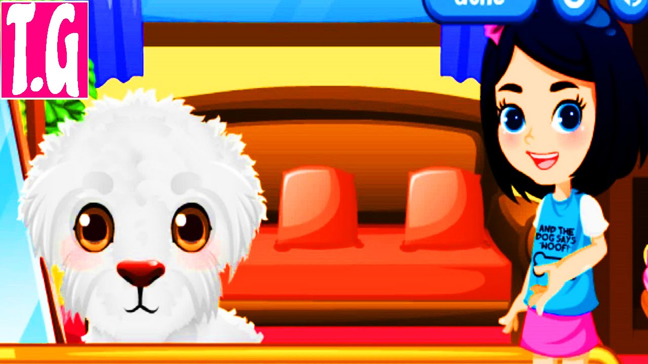 Stray Puppy Care— GAMES FOR KIDS. HD 1080p.