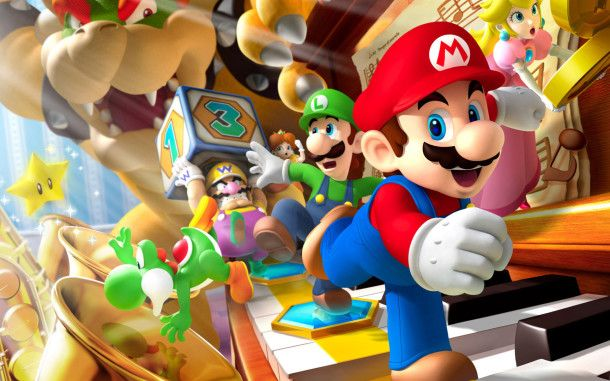 Free mario game 1080p HD wallpapers 5yry.