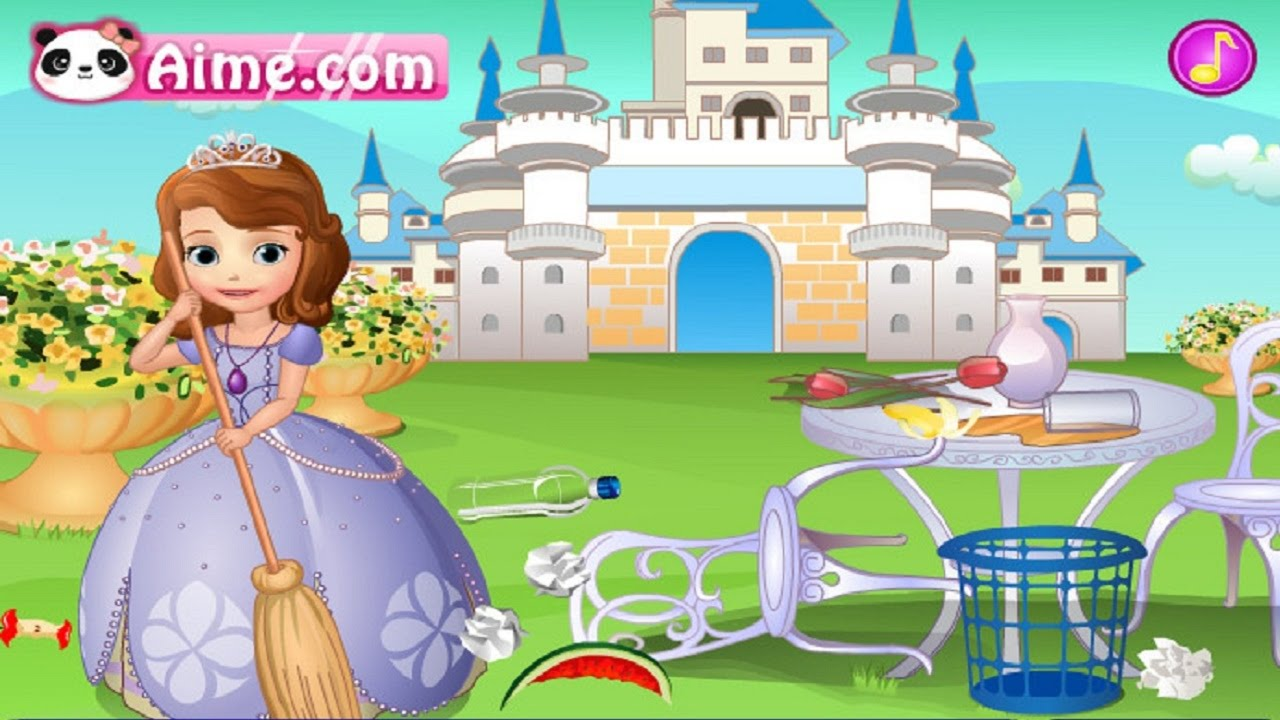 Sofia Doing Cleaning — GAMES FOR KIDS. Full HD 1080p.