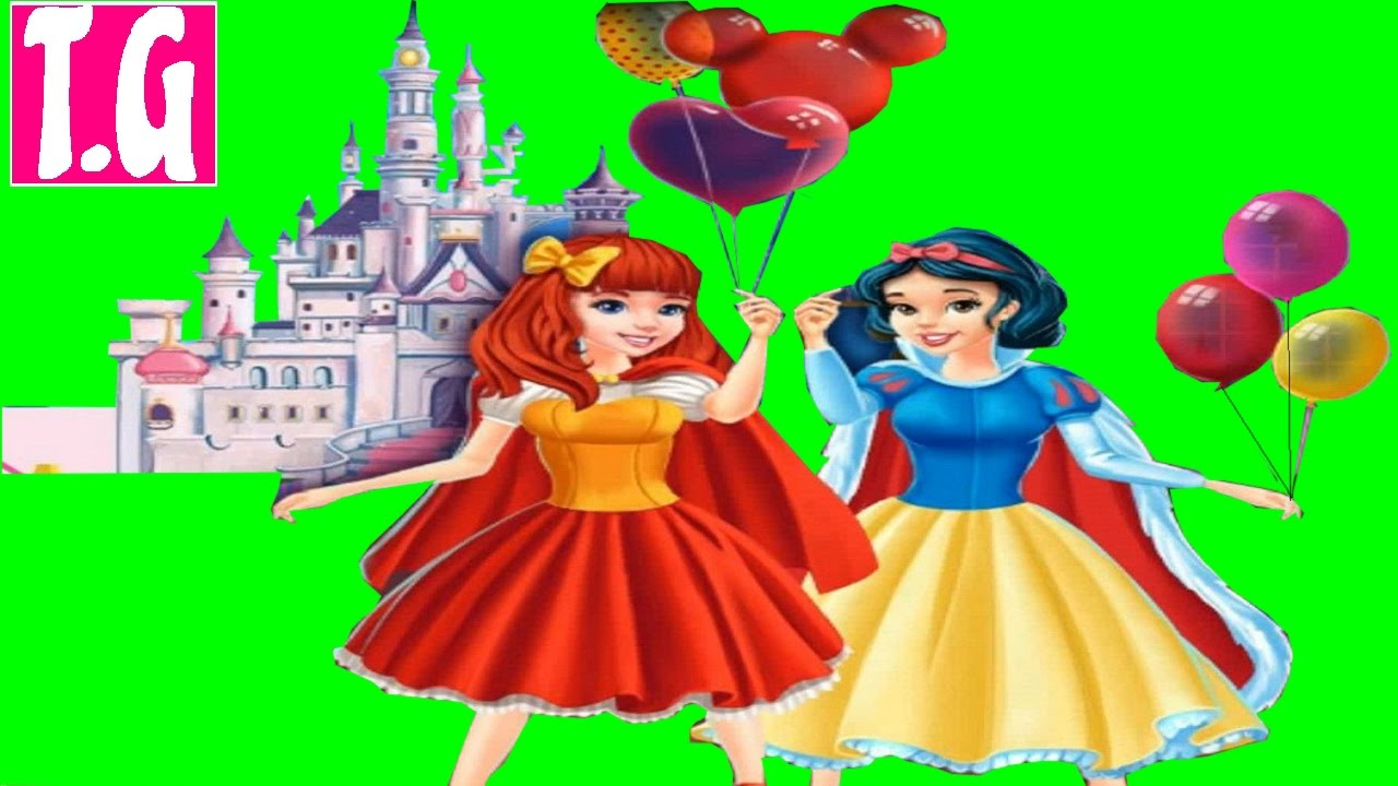 Princesses At Disneyland— GAMES FOR KIDS. HD 1080p.