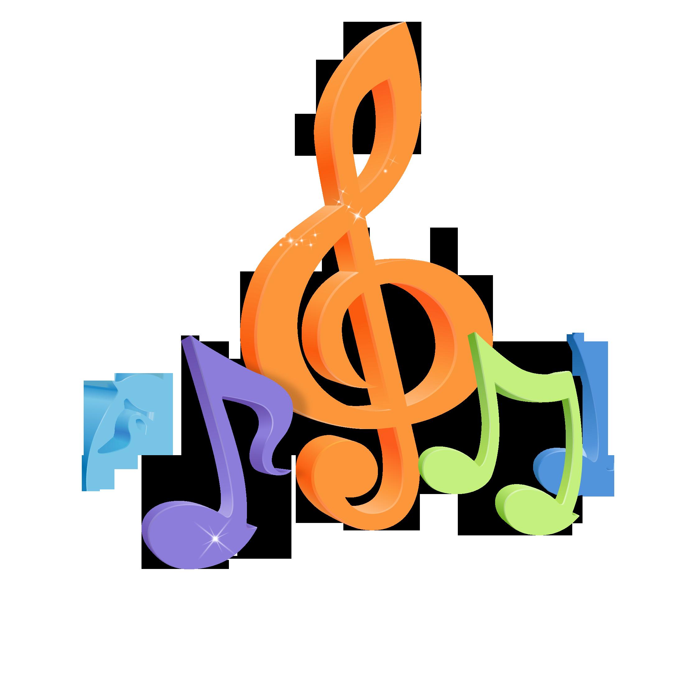 Musical note Desktop Wallpaper 4K resolution 1080p.