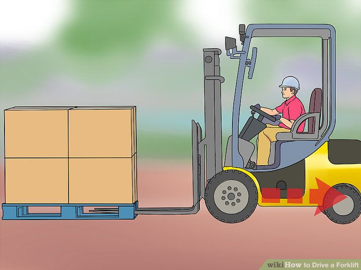 4 Ways to Drive a Forklift.
