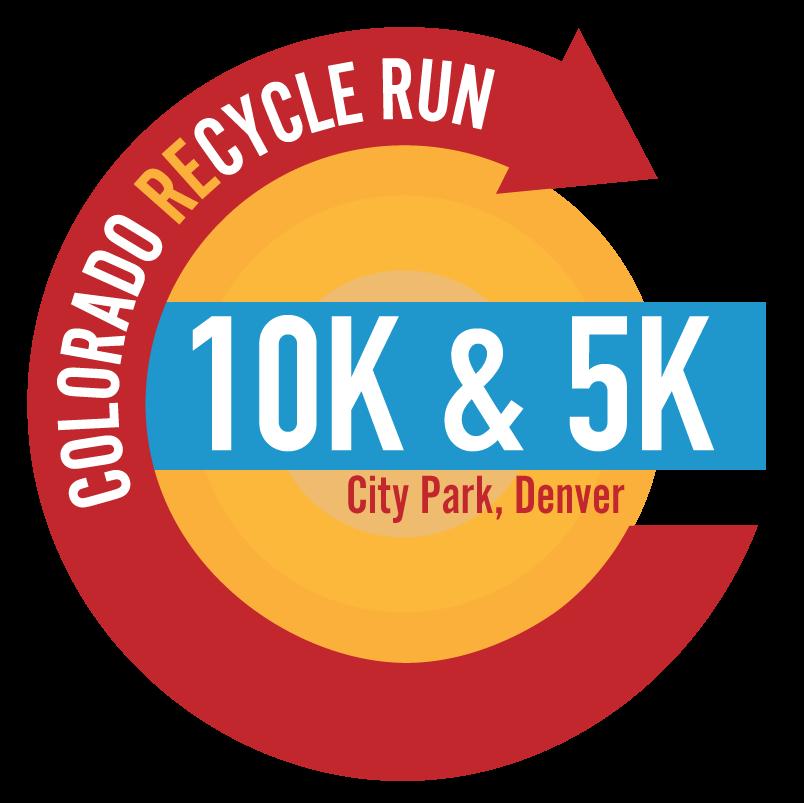 Colorado Recycle Run 10K, 5K Run.