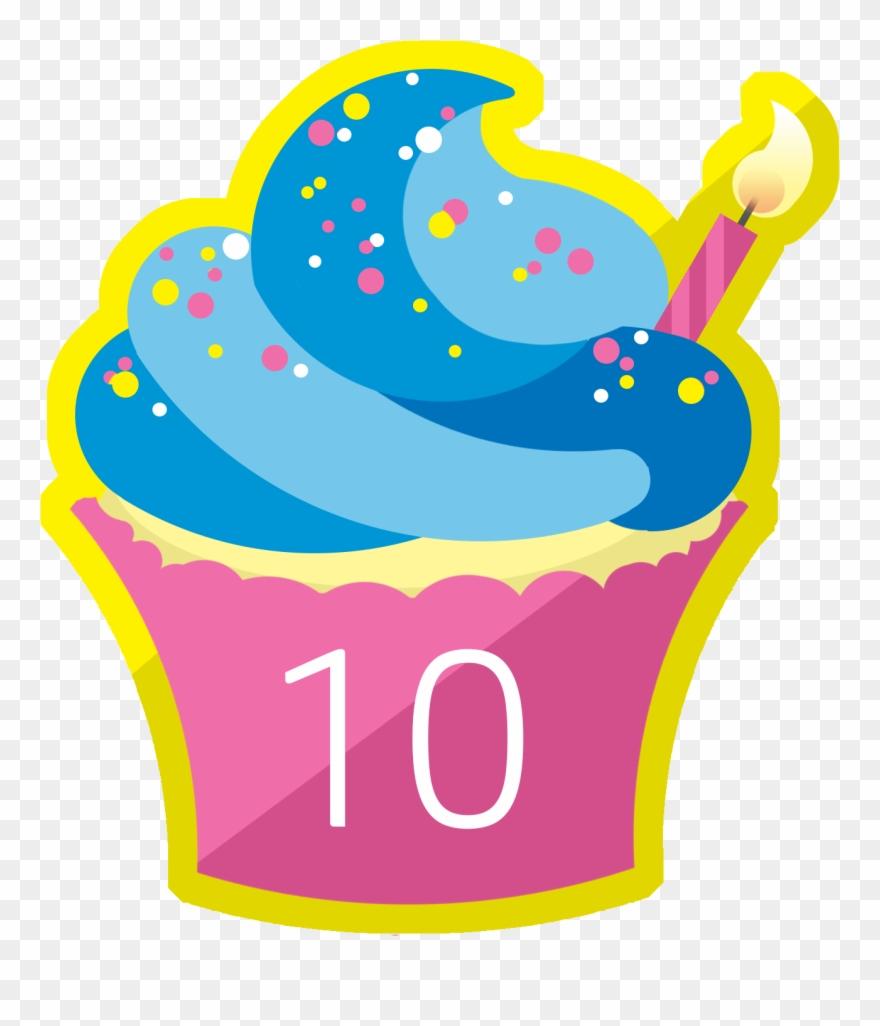 Happy 10th Anniversary Clipart (#4933774).