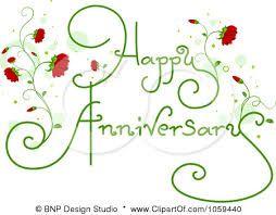 Happy Anniversary Clipart.