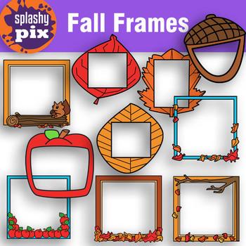 Fall Frames Clipart.