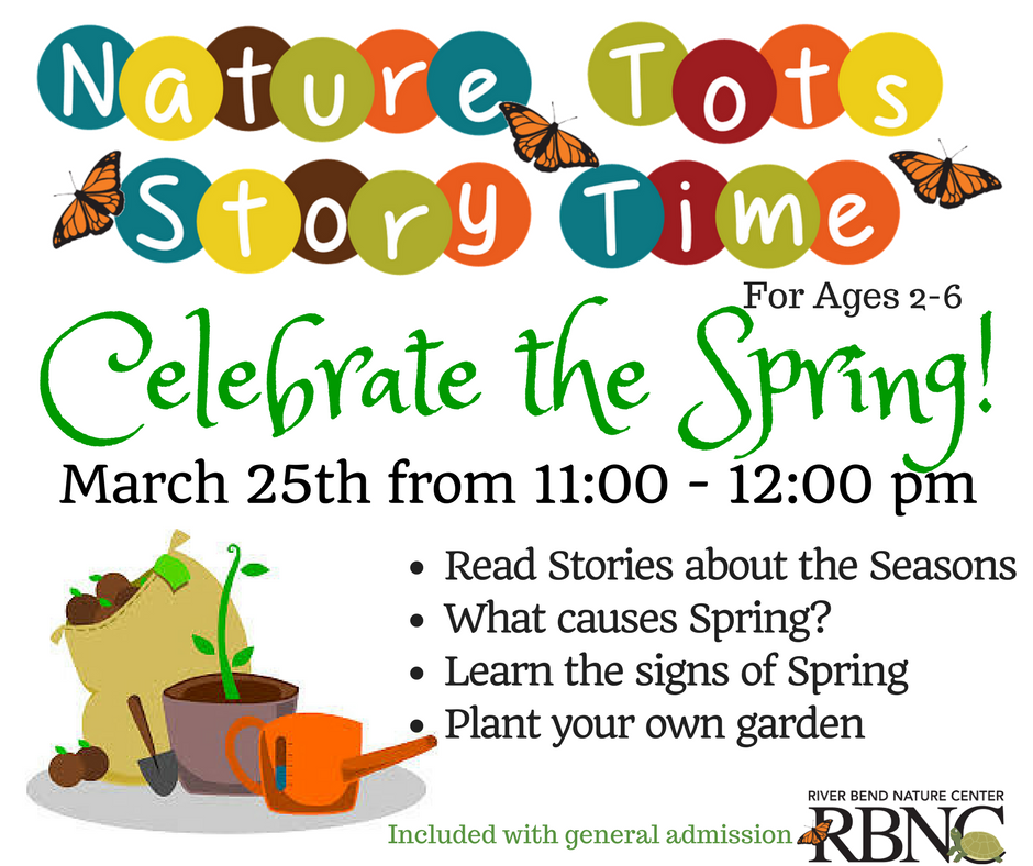 Nature Tots Story Time.