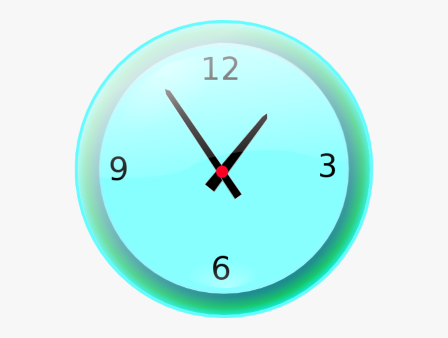 Transparent Analog Clock Clipart.