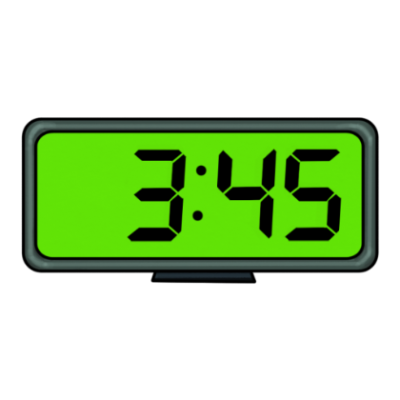 Digital Clock Clipart 9 45.