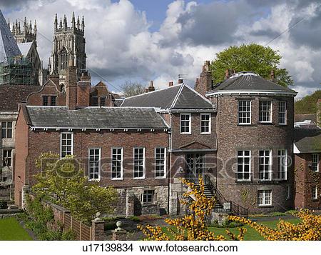 Stock Photo of England, North Yorkshire, York. Grays Court.