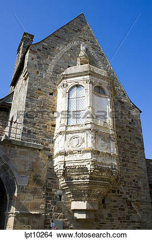 Stock Photo of CHAPEL OF ORATOIRE ORATORY TOWER IN CASTLE 11th.