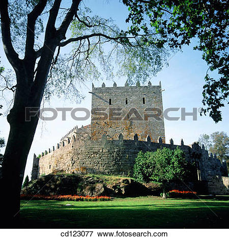 Picture of Castle (11th Century). Sotomayor. Pontevedra province.