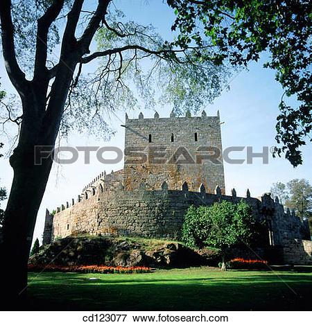 Picture of Castle (11th Century). Sotomayor. Pontevedra province.