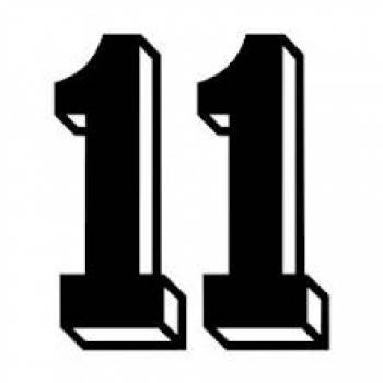 Number Eleven Clipart.