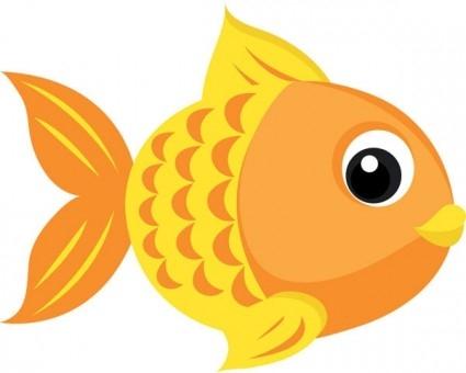 Cute fish clipart 11.