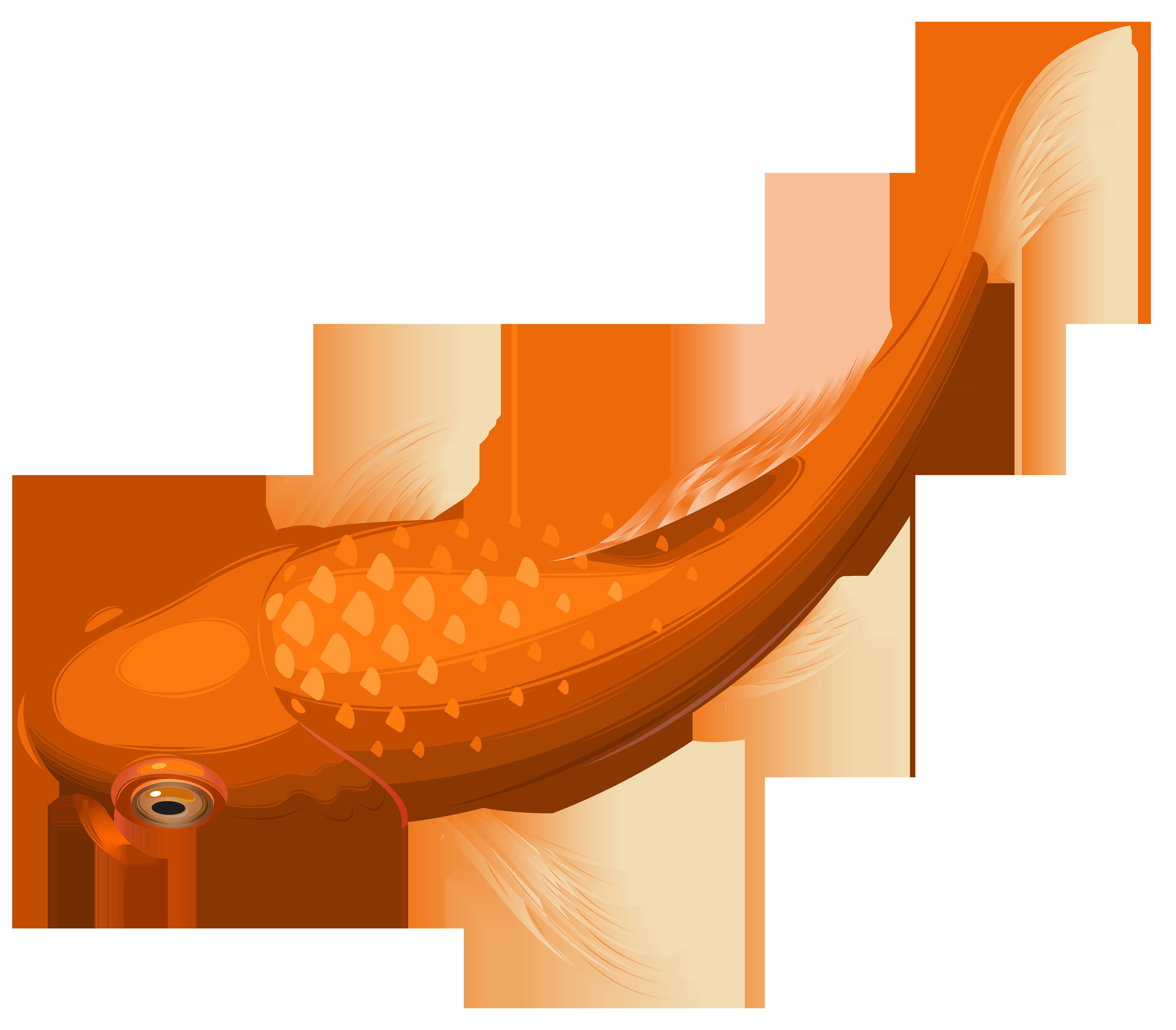 Koi Goldfish Clip art.