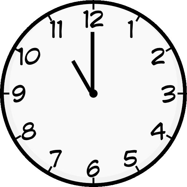 Eleven O\'clock Clipart.