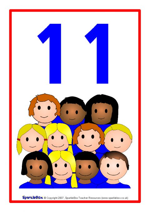 11 Objects Clipart.