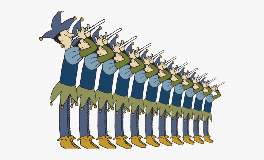 11 Pipers Piping.