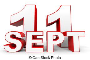 Calendar 11 september Clipart and Stock Illustrations. 45 Calendar.