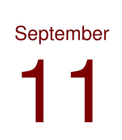 September 11 Clip Art at Clker.com.