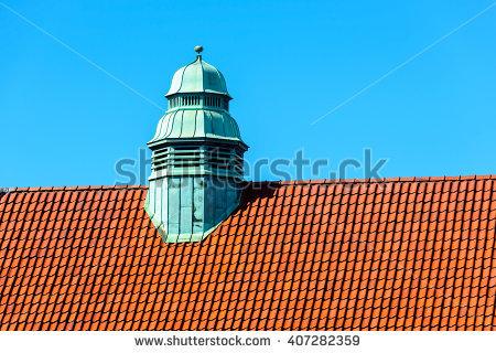 Copper Dome Green Stock Photos, Royalty.