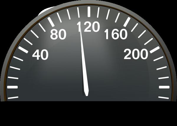 Speedometer 110 Clip Art at Clker.com.