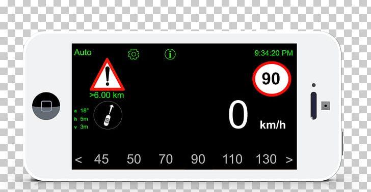 Kilometer Per Hour Motor Vehicle Speedometers Overtaking.