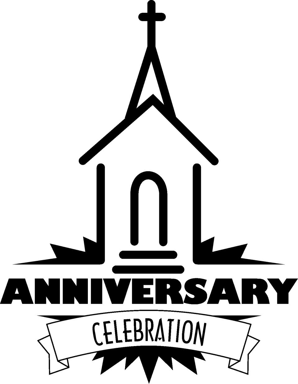 Anniversary clipart church, Anniversary church Transparent.