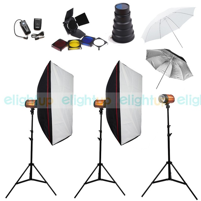 Aliexpress.com : Buy New Pro Studio Lighting Kit Flash Monolight.