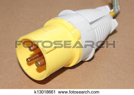 Stock Photography of 110v plug k13018661.