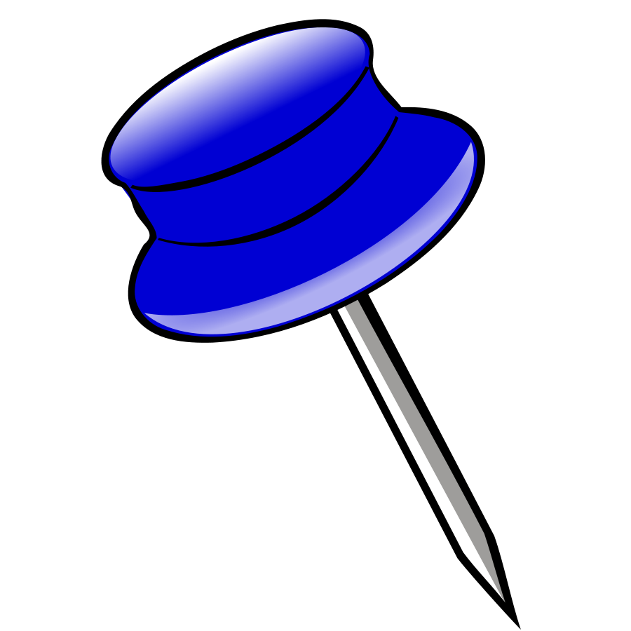 Pin Clipart #114.