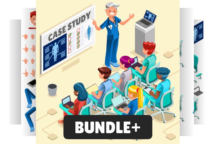 School Nurse Clip Art Bundle Medical.
