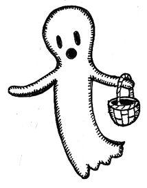 Ghost Clip Art 117.