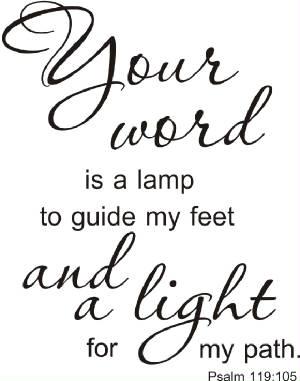 Psalm 119 Clip Art.