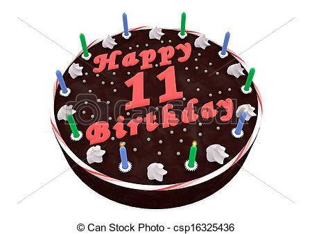 11th birthday cake clipart » Clipart Portal.