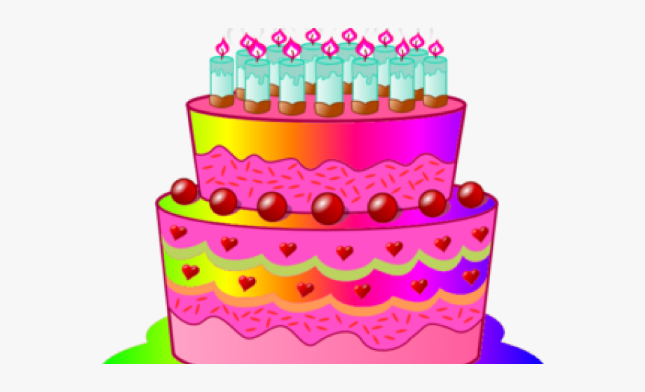 Birthday Candles Clipart Birthday Cake 9 11 300 X.
