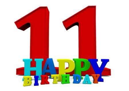 114 Eleventh Birthday Stock Illustrations, Cliparts And Royalty Free.