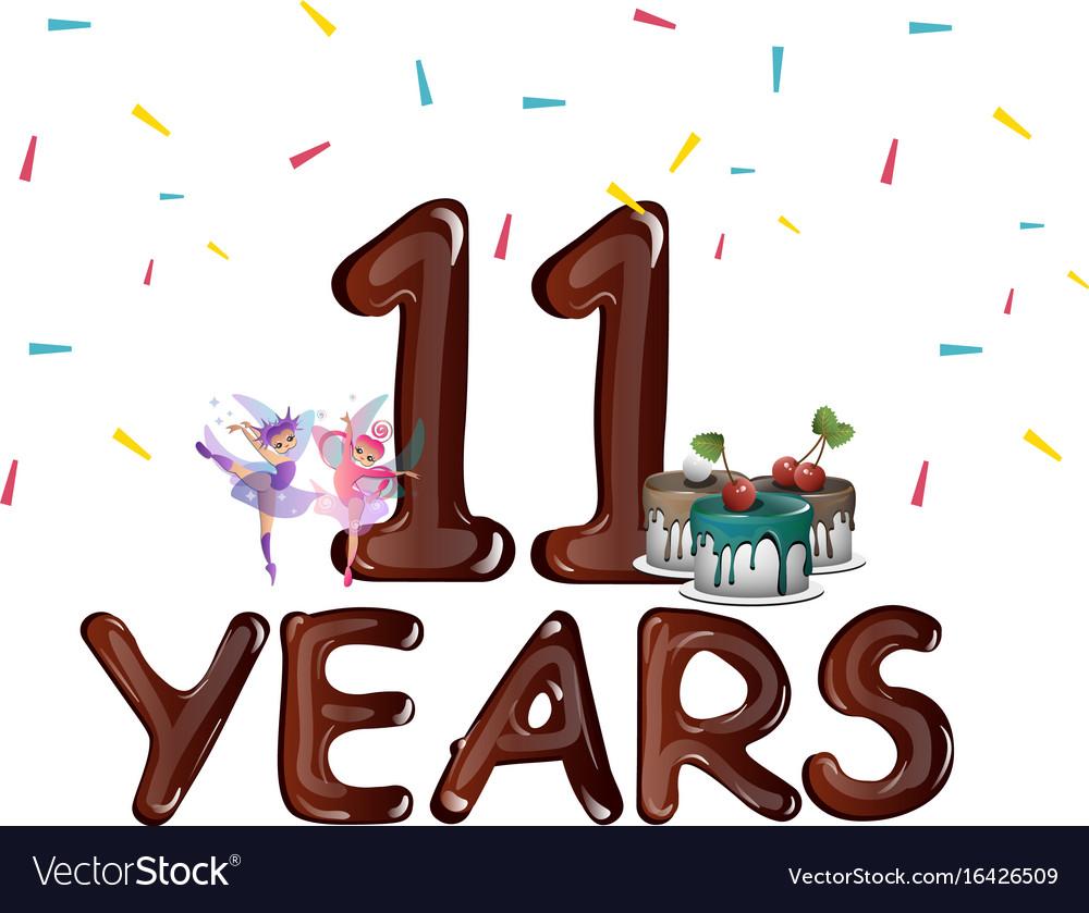 Happy 11th birthday.