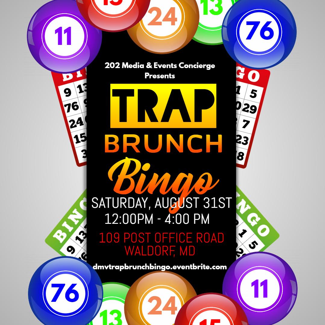 Trap Brunch & Bingo Tickets, Sat, Aug 31, 2019 at 12:00 PM.