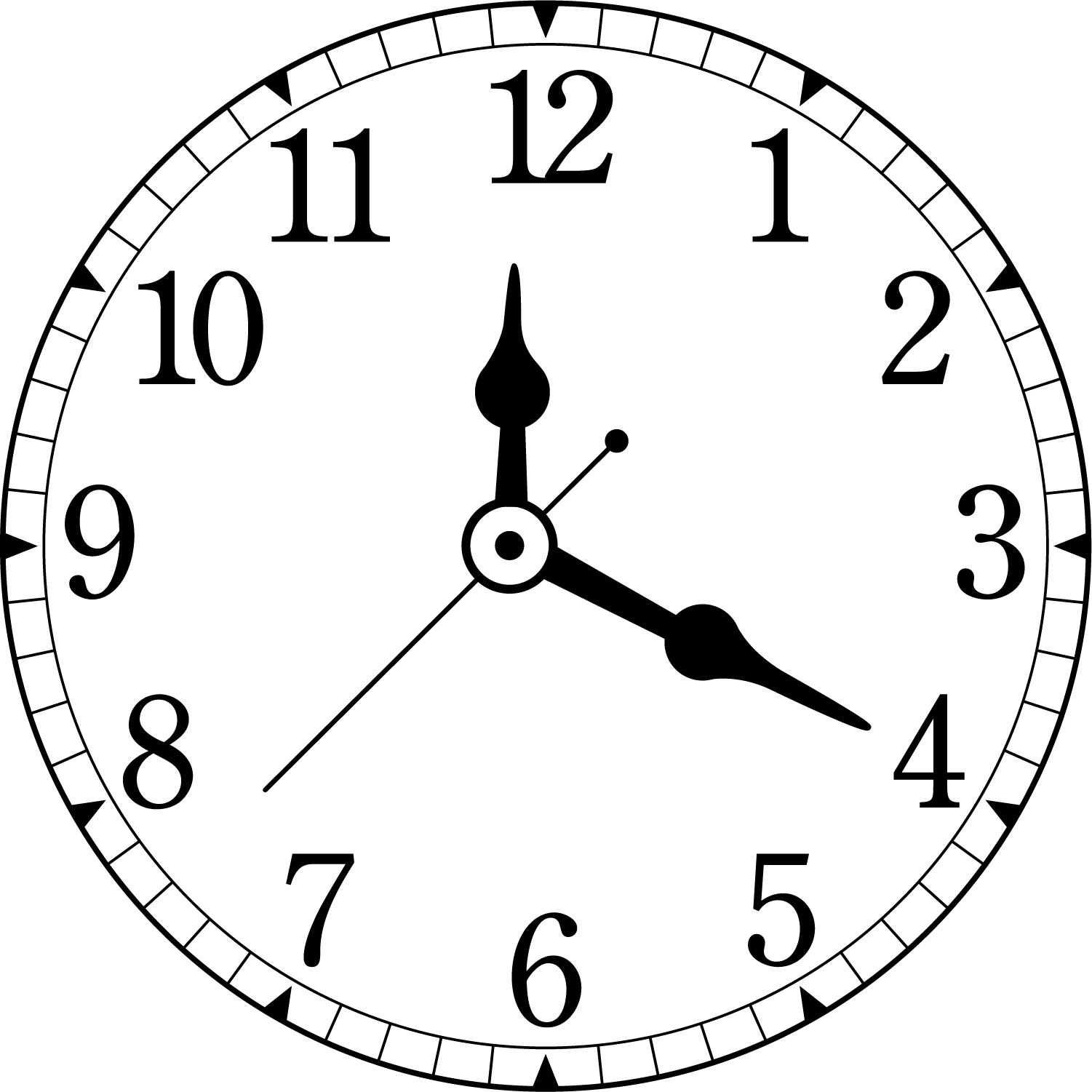 Clock face Alarm clock Time Furniture.